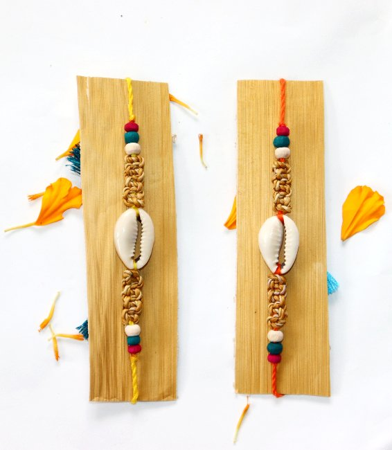 handcrafted rakhi
