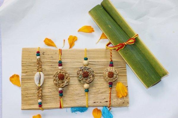 handmade rakhi