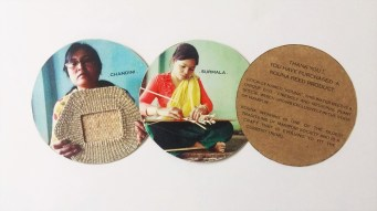 Our Artisan Tags of Our Products, Made by Sravya