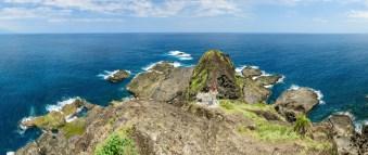 Vyhlídka z vrcholku ostrova Sanxiantai