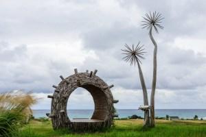 Umění na břehu Tichého oceánu