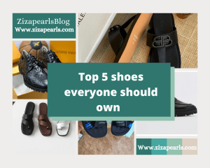 5 essential shoes everyone should own