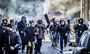 Anger in Bosnia, but this time the people can read their leaders' ethnic lies