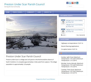 Preston Under Scar Parish Council