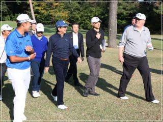 トランプ大統領,松山英樹,画像