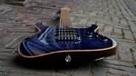 Charvel USA Select DK24 HSS 2PT CM QM – Blue Burst