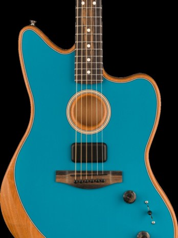 Fender American Acoustasonic Jazzmaster – Ocean Turquoise