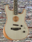 Fender American Acoustasonic Strat® – Transparent Sonic Blue