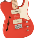 Squier Paranormal Carbronita Telecaster Thinline – Fiesta Red
