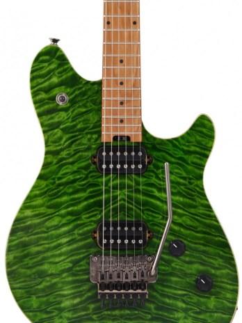 EVH Wolfgang Standard QM – Transparent Green