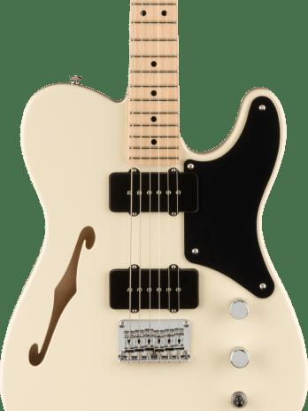 Squier Paranormal Cabronita Telecaster Thinline – White
