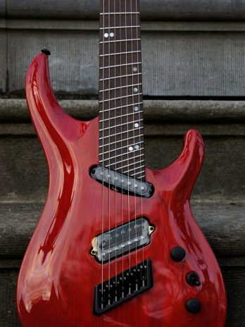 Ormsby SX Carved Top 7 – Candy Apple