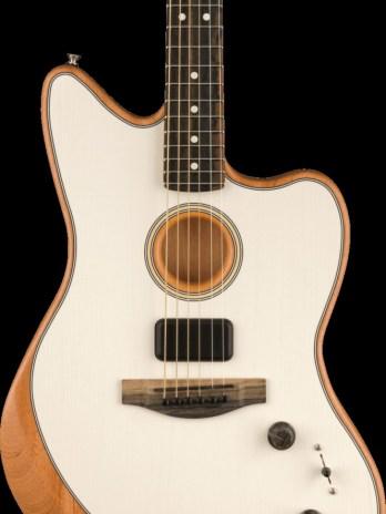 Fender American Acoustasonic Jazzmaster – Arctic White