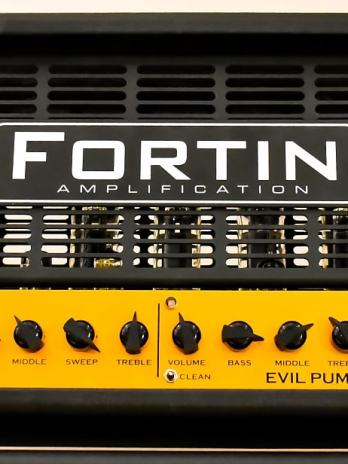 Fortin Amplification Evil Pumpkin Head