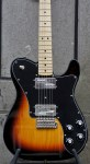 Fender Made in Japan Limited 70s Telecaster Deluxe Tremolo MN – 3 Tone Sunburst