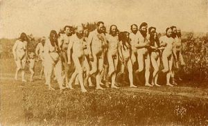 Nudist walk 1903