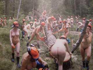 Nude lumberjacks