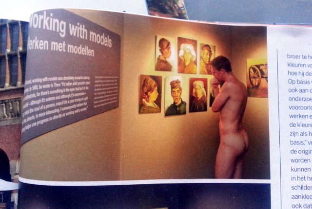 Nude art-watchers