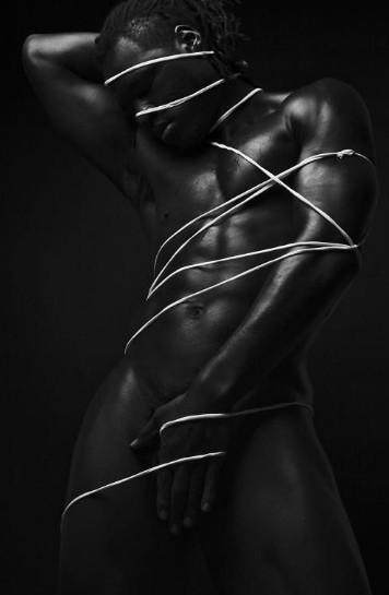 nude man light