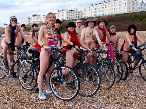 nude cycling WNBR