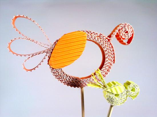 kurki-2 - Zabawki z tektury, zabawki z kartonu