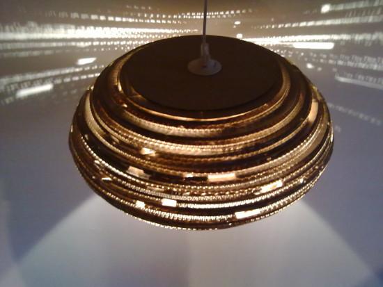 lampa-495-15 - lampa z tektury