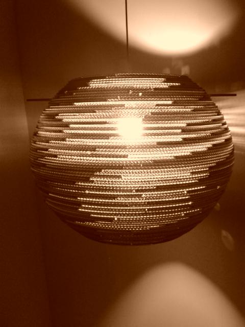 lampa-kula-60-2 - lampa z kartonu