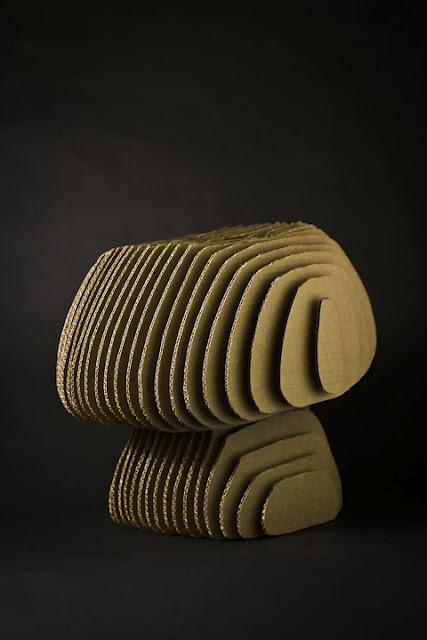 krzeslo-projekt-4 - krzesła z kartonu