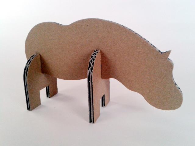 Hipopotam z tektury - 4