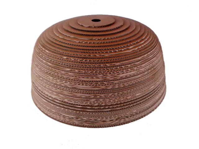 Jasna 70 - 2 lampa z kartonu