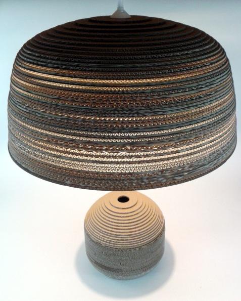 Jasna 70 - 3 lampa z kartonu