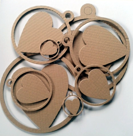 Serca z kartonu - 1