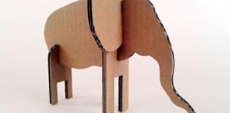Slon z kartonu - 4
