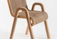 karton plus drewno stołek - 1