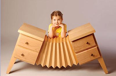 Kreatywne meble dla dzieci