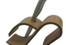 tekturowy model uchwytu na noze - 1