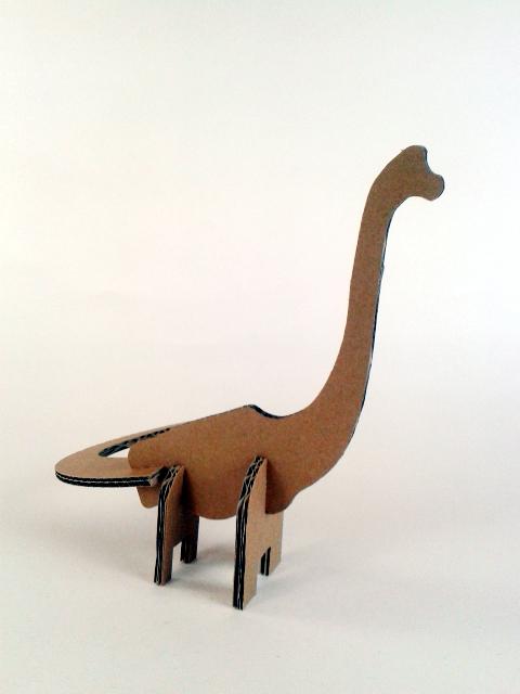 kartonowe dinozaury - 4 - 2
