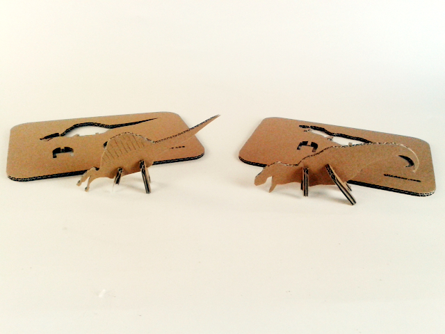 kartonowe dinozaury - 5 - 1