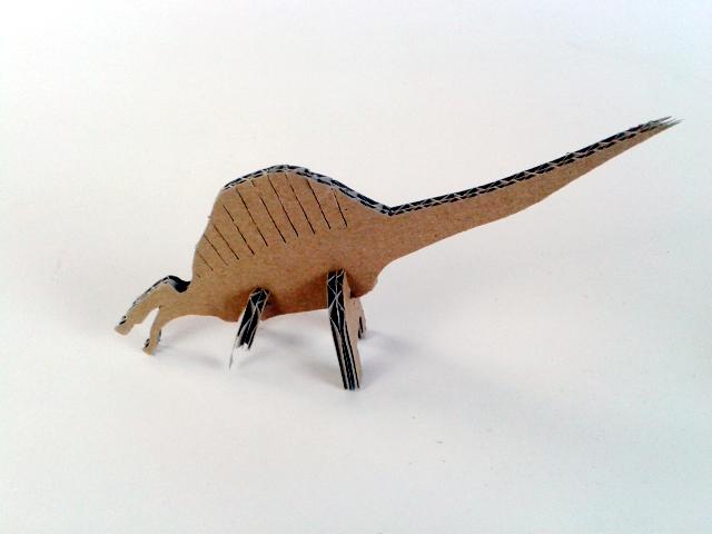 kartonowe dinozaury - 5 - 5