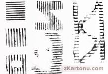 Matryce z kartonu - zbiorcze