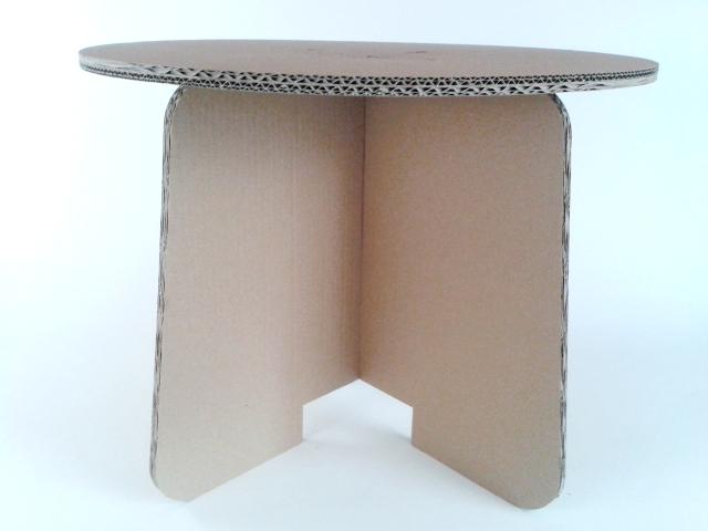 Stol z karotnu skladany - 3