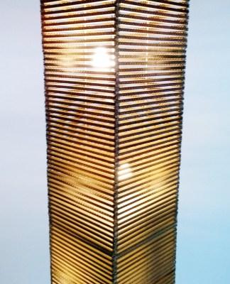 Lampa z kartonu wysoka - 5