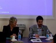 Dr. Riccardo Machioro explains his research project