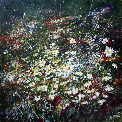 Spring flowers fine art painting