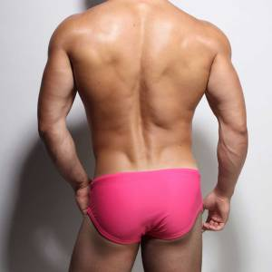 pink swimwear men speedos