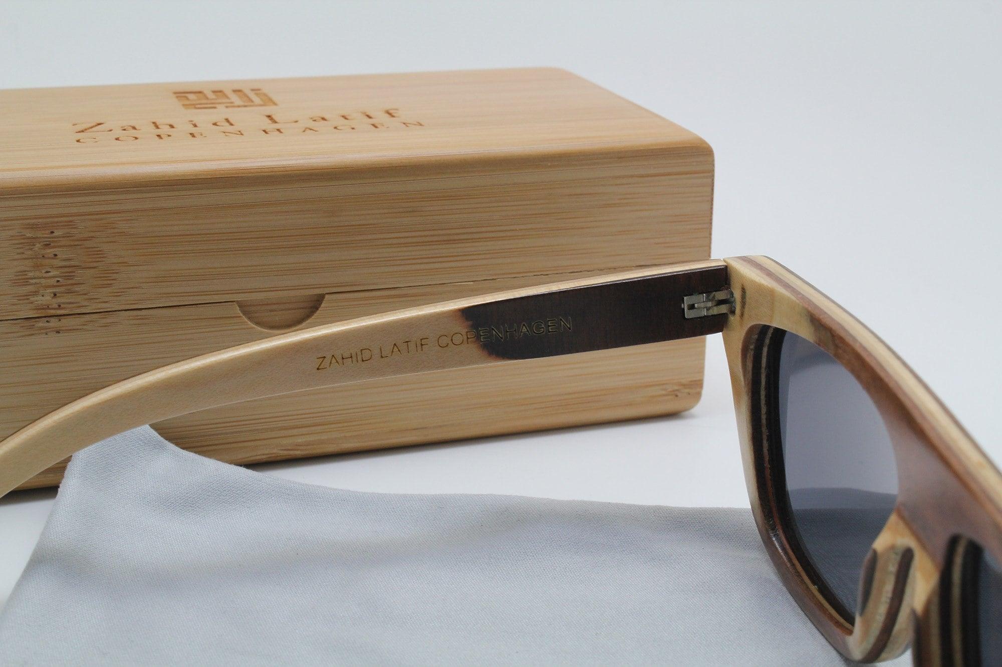 Brown Flat Sunglasses by ZLC