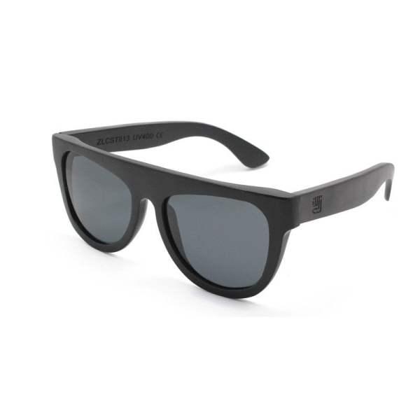 ZLC Black Bamboo Sunglasses by ZLC.