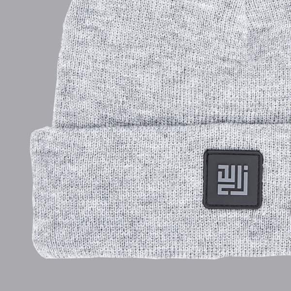 Grey colour, folded Beanie by ZLC.