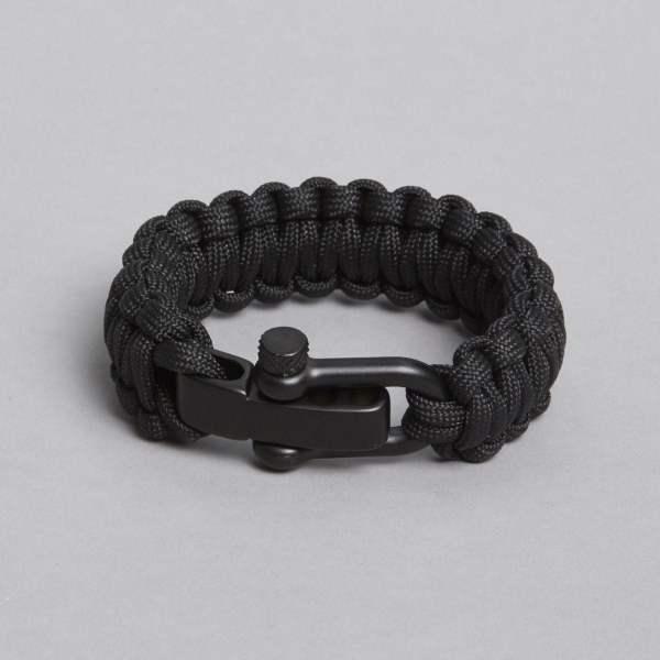 Black in black bracelet by ZLC.
