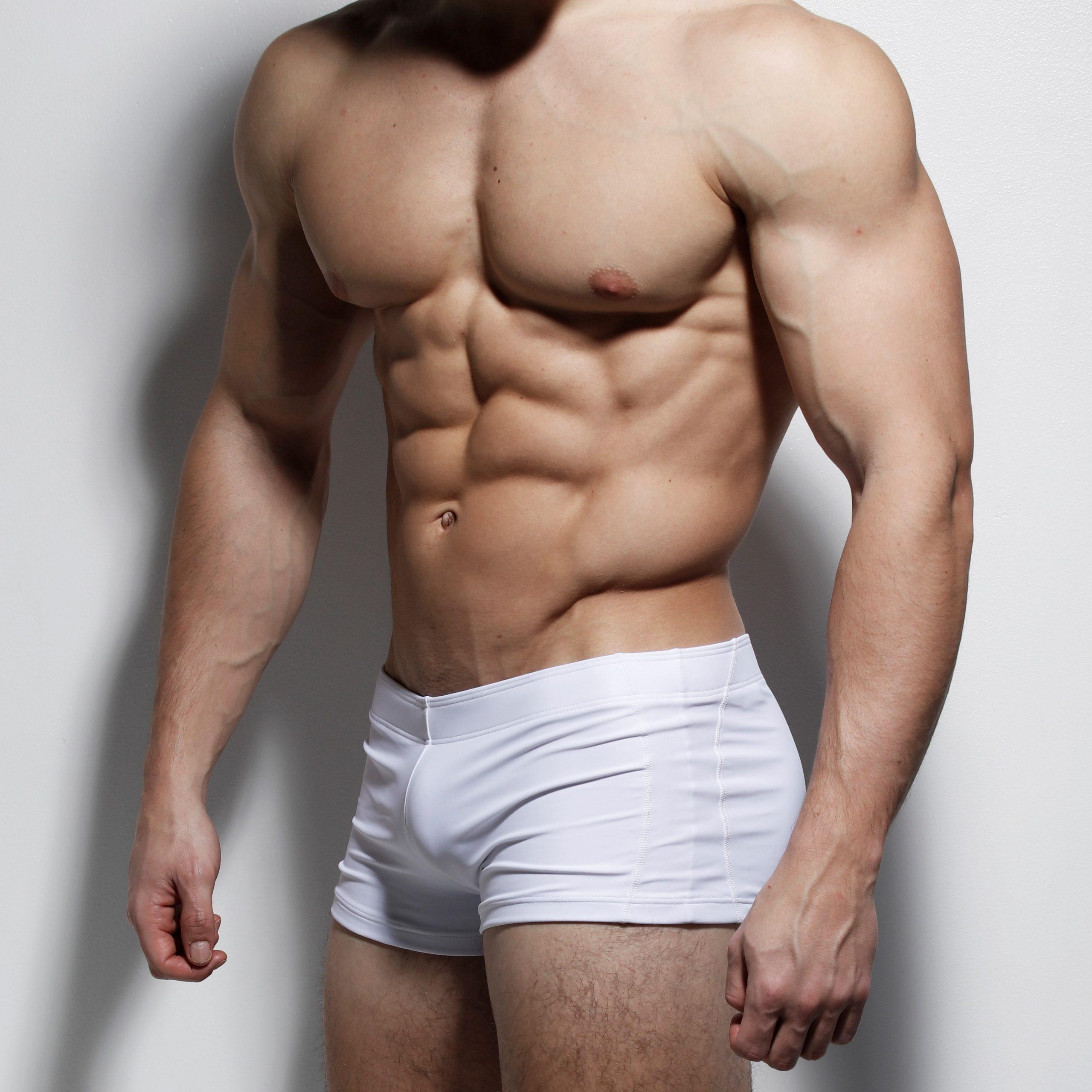 ZLC White classic posing pants